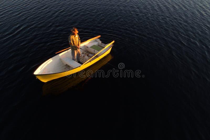 Pesca ida fotos de archivo