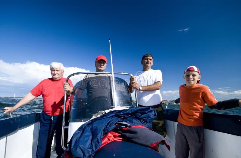 Pesca marittima andante fotografie stock libere da diritti