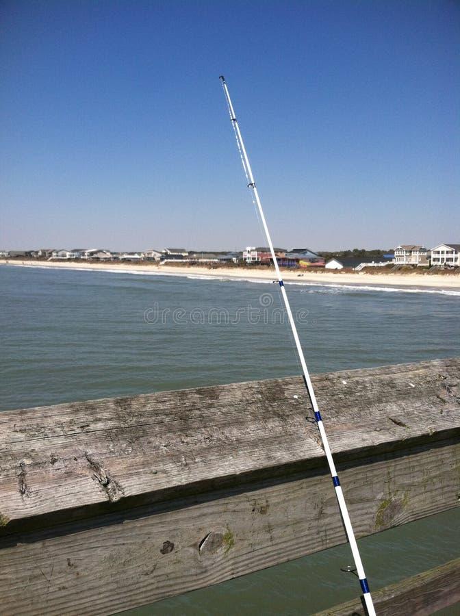 Pesca no cais 2 imagem de stock royalty free