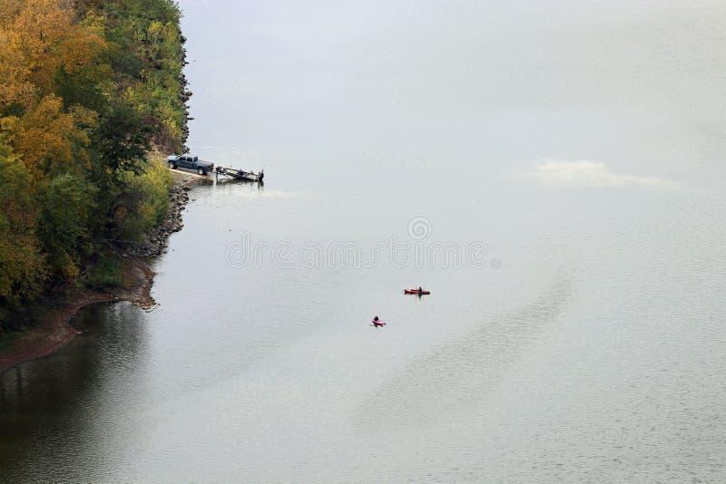 Pesca no Rio Susquehanna fotos de stock