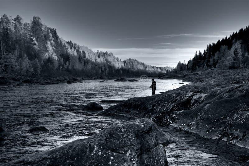 Pesca nordica fotografia stock libera da diritti