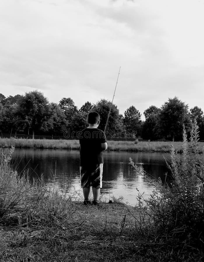 Pesca pacífica imagen de archivo libre de regalías