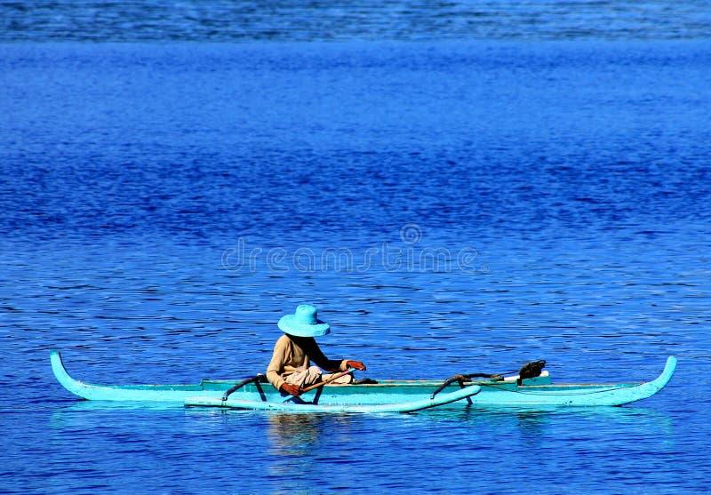 Pesca per vivere fotografia stock libera da diritti