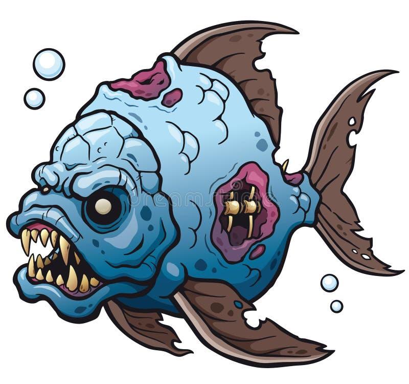Pescado stock de ilustración