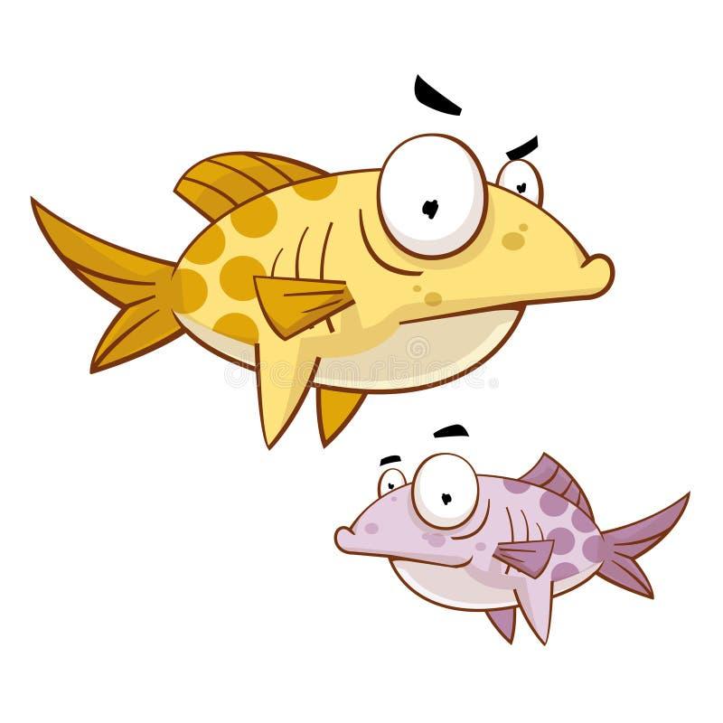 Pescado ilustración del vector
