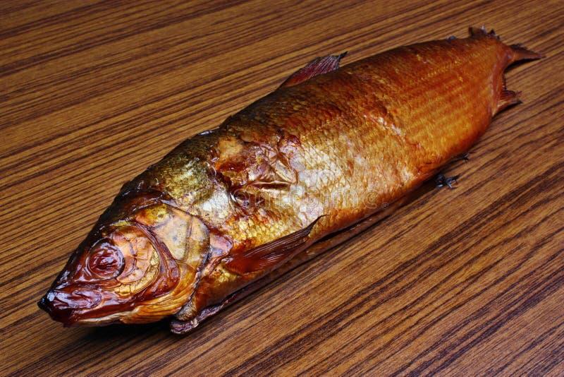 Pescado blanco ahumado de los pescados fotos de archivo libres de regalías