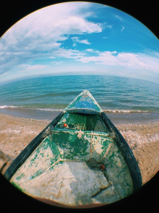 Pescador Boat fotografia de stock royalty free