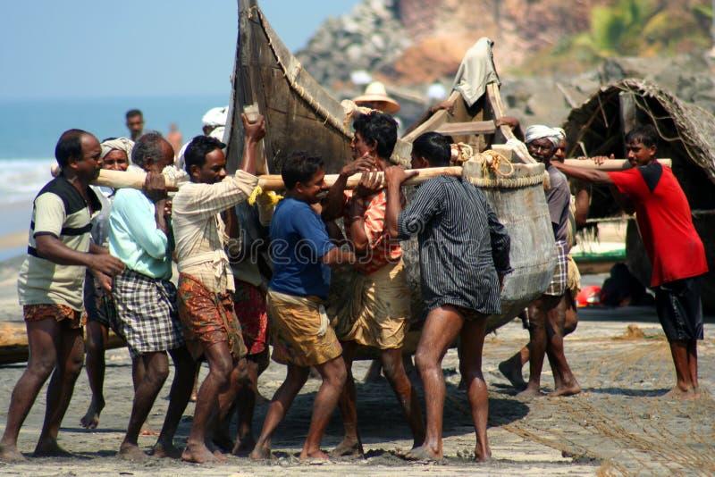 Pescador indio fotos de archivo libres de regalías