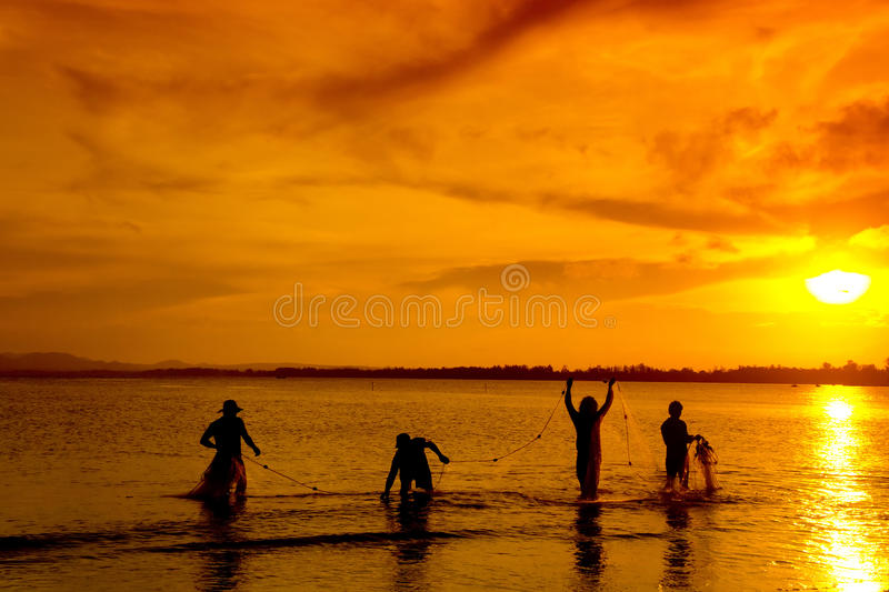 Pescador tradicional fotos de stock royalty free