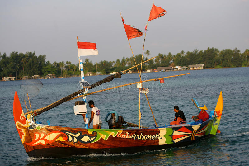 Download Pescadores imagen editorial. Imagen de skiff, para, canotaje - 42437400