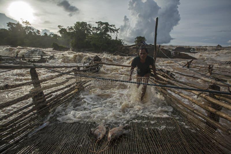 pescadores fotografia de stock