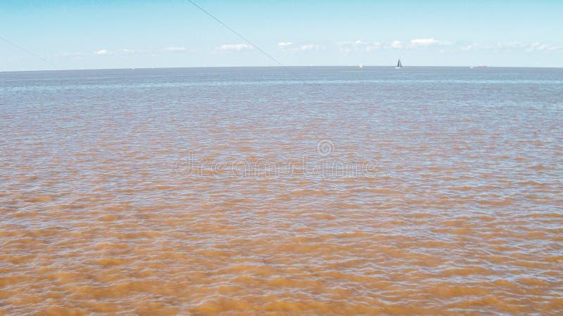 Pescadores perto do aeroporto internacional de Jorge Newbery em Buenos Aires imagem de stock royalty free