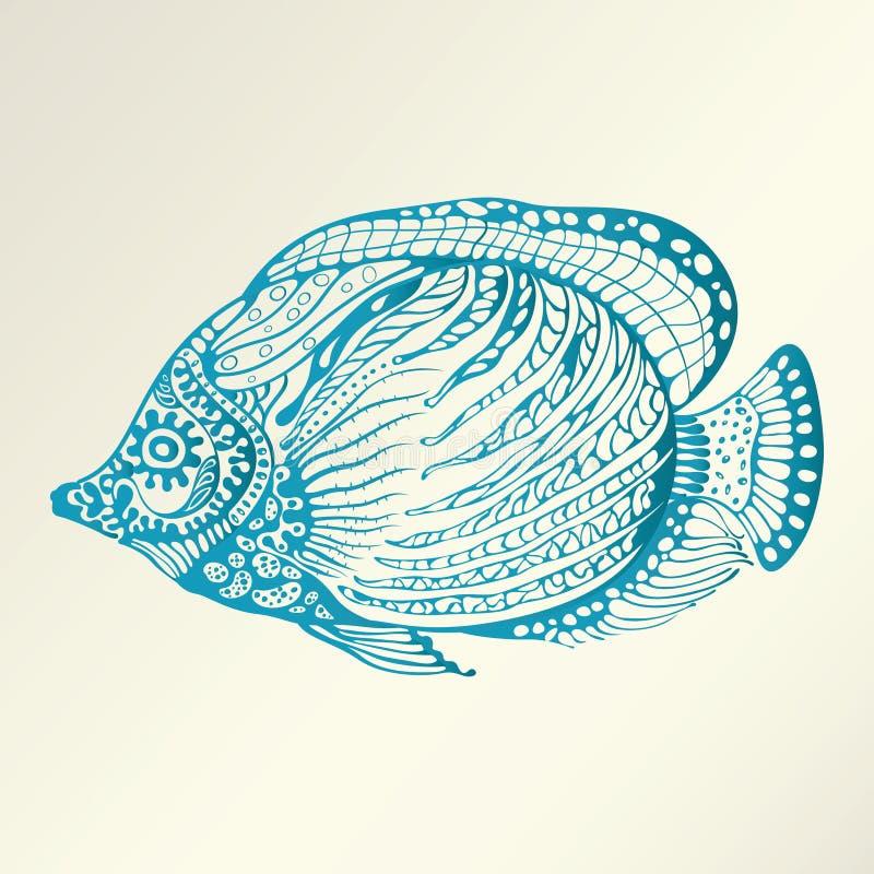 Pescados abstractos libre illustration
