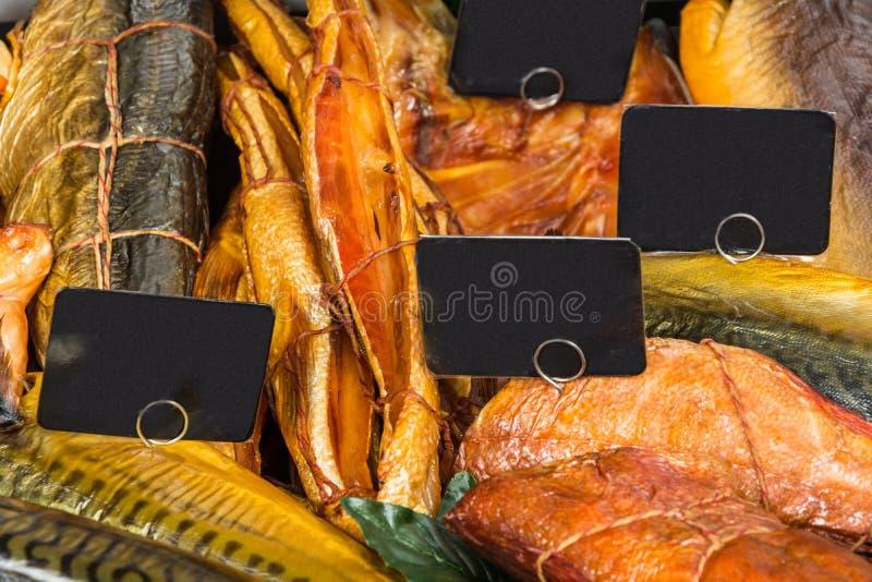 Download Pescados Ahumados En Mercado Foto de archivo - Imagen de surtido, caliente: 100526854