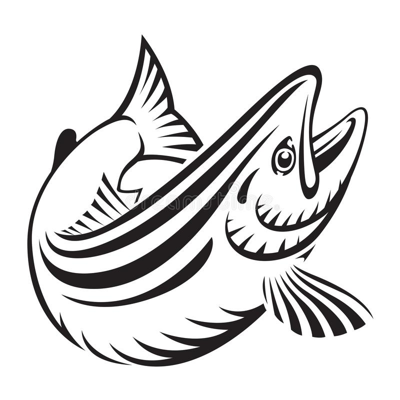 Pescados de color salmón gráficos, vector libre illustration