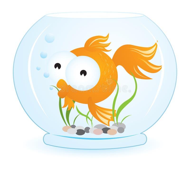 Pescados del oro ilustración del vector