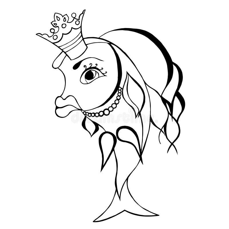 Pescados del oro libre illustration