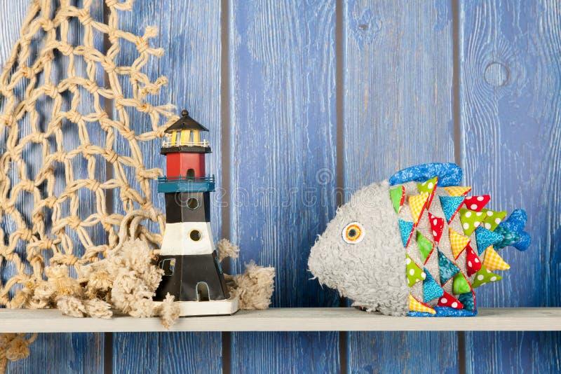 Pescados divertidos rellenos en casa imagen de archivo libre de regalías