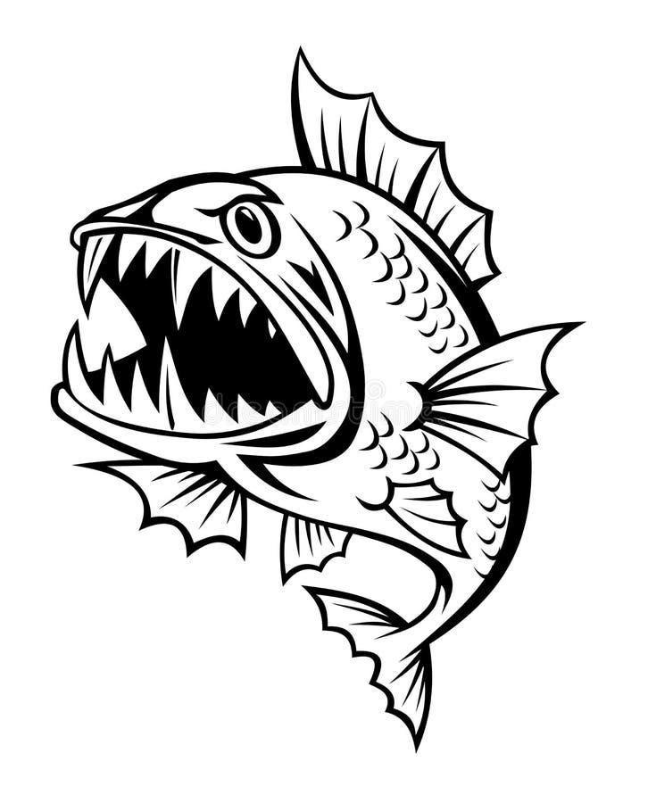 Pescados enojados libre illustration