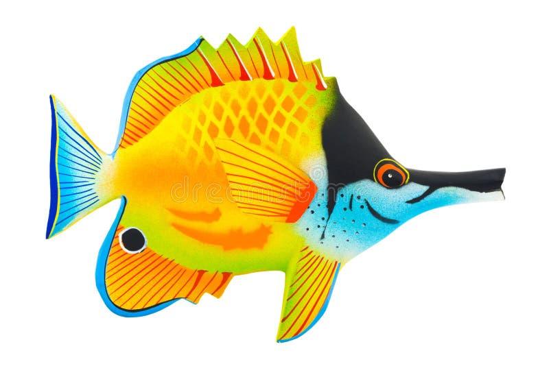 Pescados exóticos del juguete fotografía de archivo