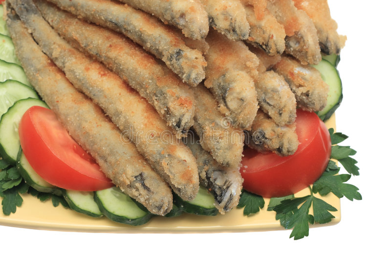 Pescados fritos #2 fotografía de archivo libre de regalías