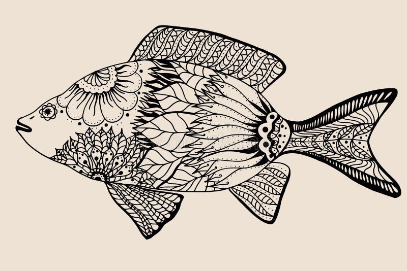 Pescados gráficos ornamentales libre illustration