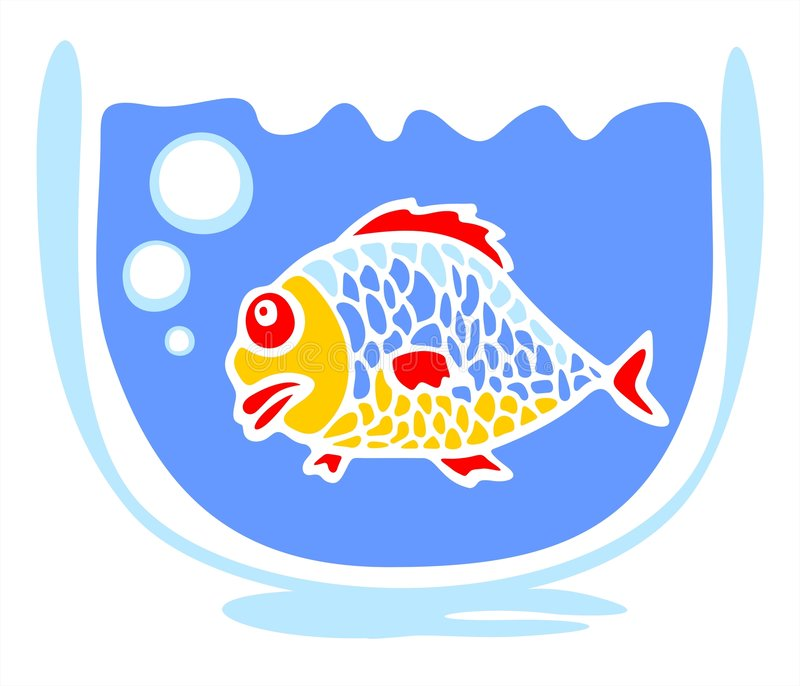Pescados grandes libre illustration