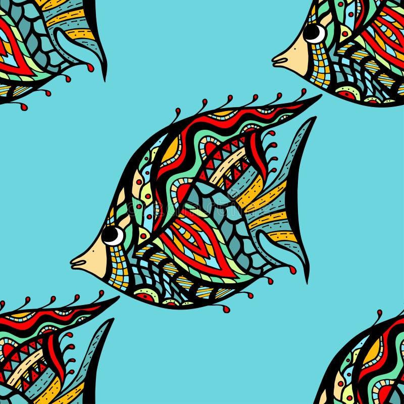 Pescados inconsútiles libre illustration