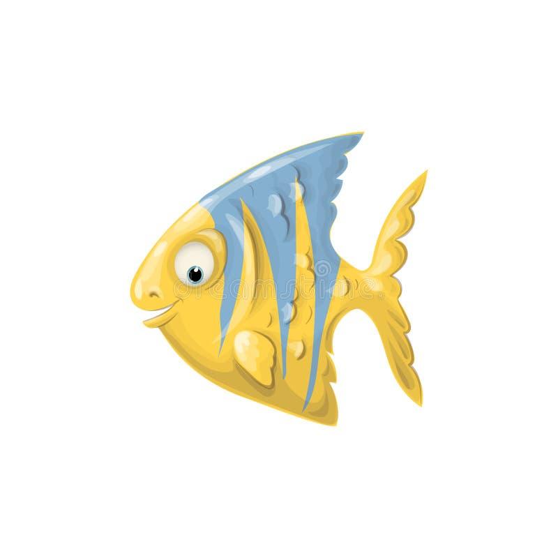Pescados lindos de la historieta Ejemplo del clip art del vector ilustración del vector