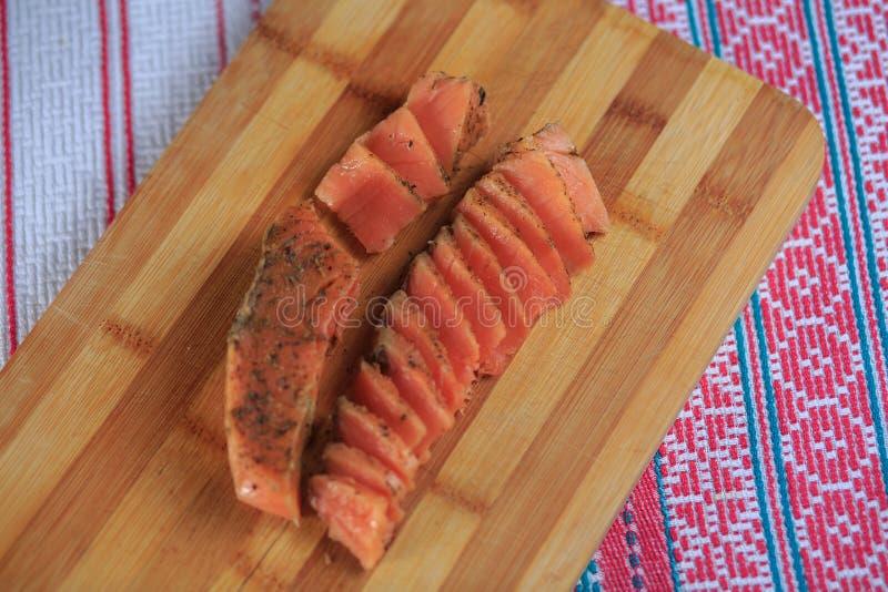 Pescados salados rojos imagen de archivo libre de regalías