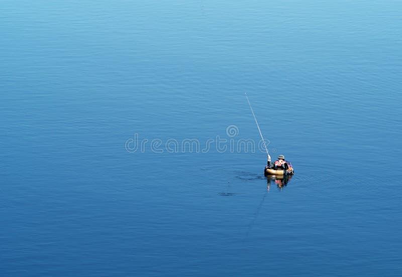 Pescando 1 fotografia de stock