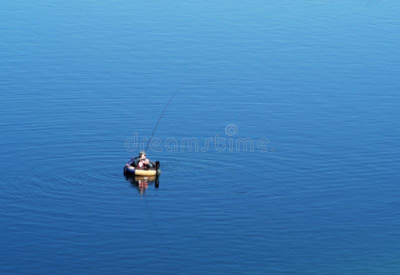 Pescando 2 fotografia de stock royalty free