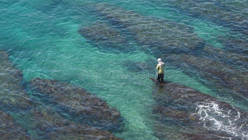 Pescando en el sur de Taiwán, Xiao Liuqiu foto de archivo libre de regalías