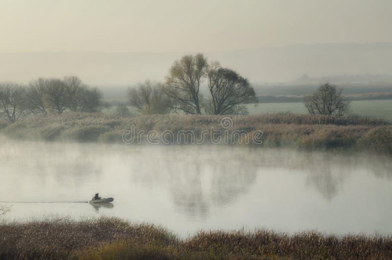 Pescando per il pesce predatore fotografia stock