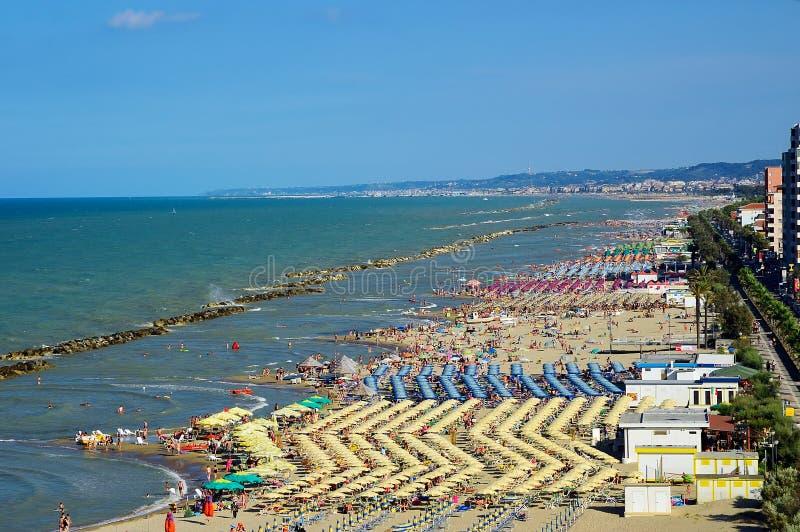 pescara montesilvano του Abruzzo Ιταλία στοκ φωτογραφία