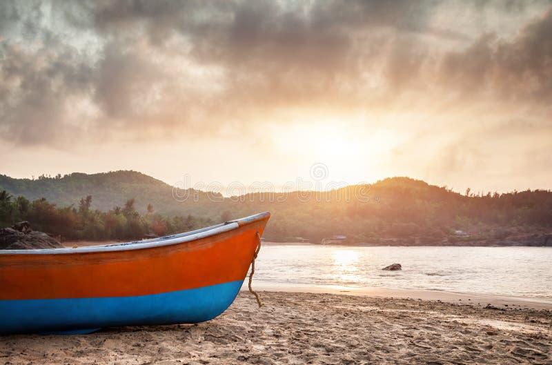 Pescatore Boat immagini stock libere da diritti