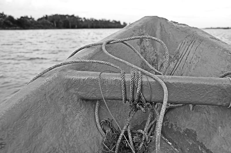 Pescatore Boat immagine stock libera da diritti