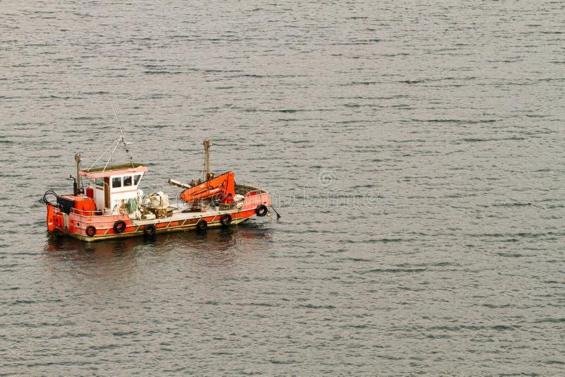 Pescatore Boat immagine stock