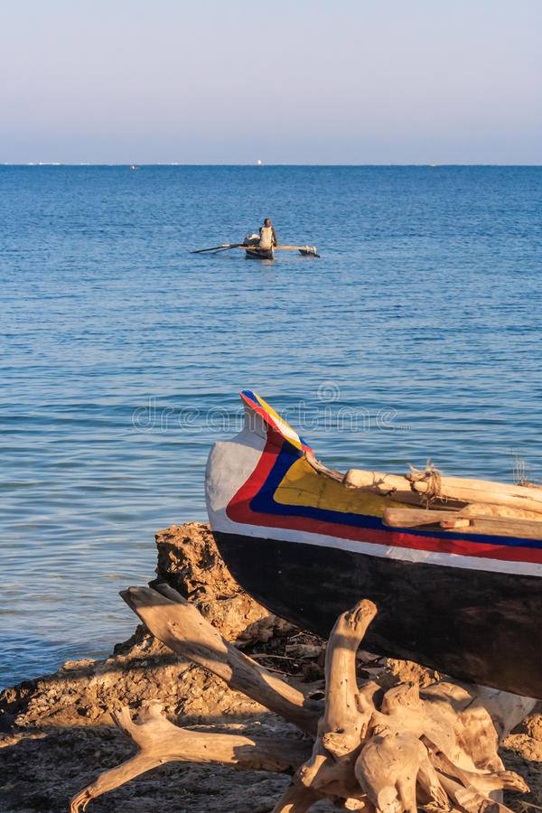 Pescatore di Vezo immagine stock