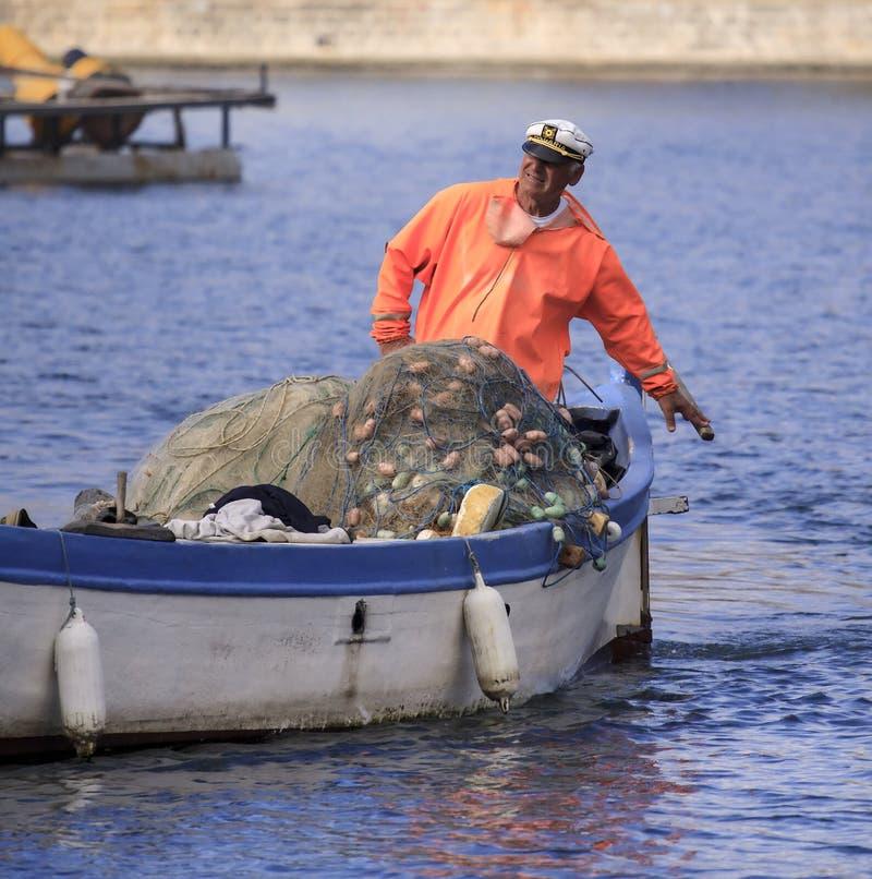 Pescatori. immagine stock libera da diritti