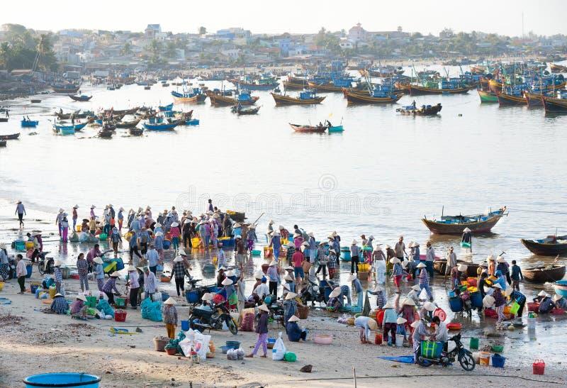 Pescatori vietnamiti immagini stock libere da diritti