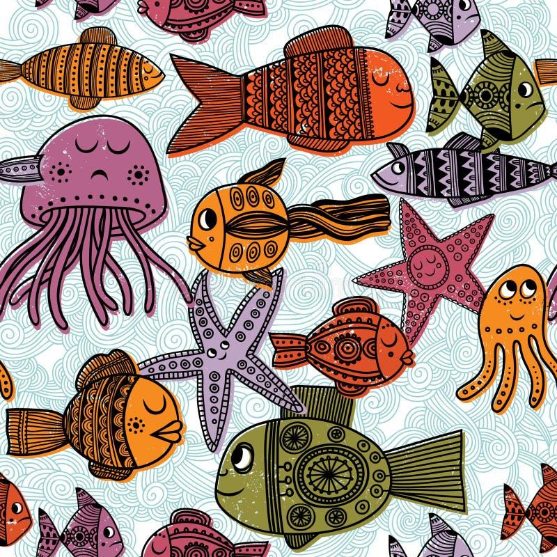 Pesce illustrazione vettoriale