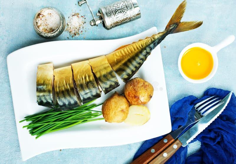 Pesce affumicato fotografia stock