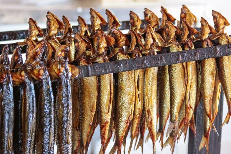 Pesce affumicato immagine stock