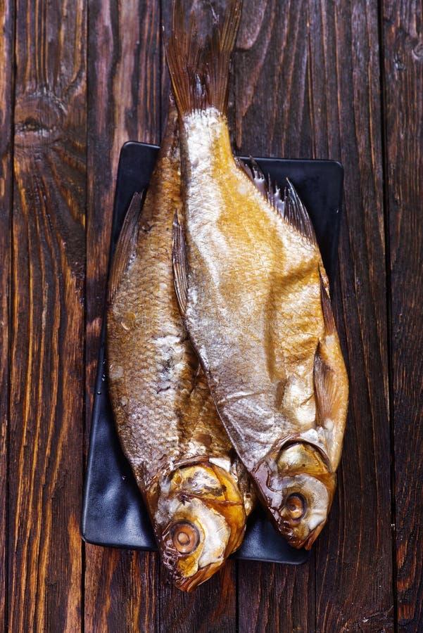 Pesce affumicato immagini stock