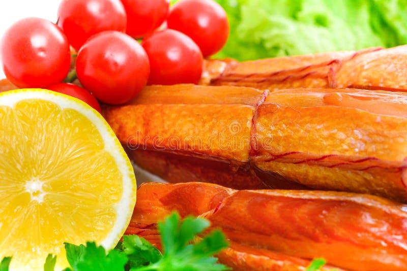 Pesce affumicato appetitoso immagini stock libere da diritti