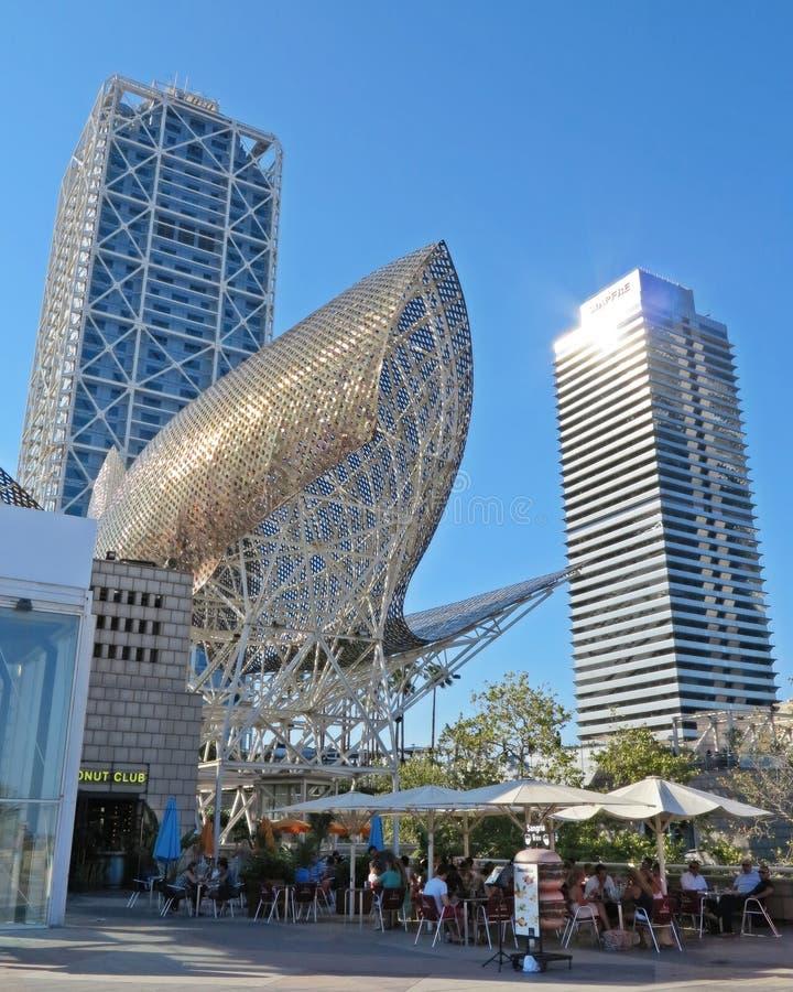 Pesce dello studio di Frank Gehry immagini stock