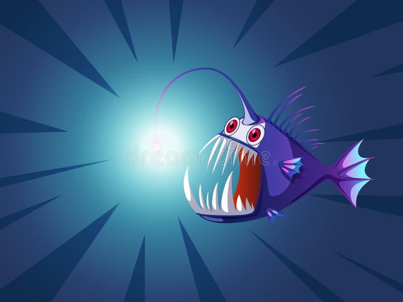 Download Pesce di Abgler illustrazione di stock. Illustrazione di riga - 30828388