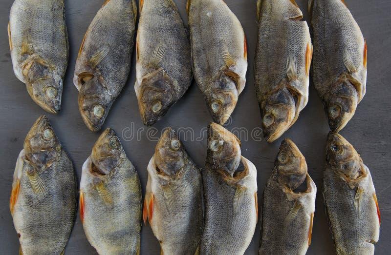 Pesce salato secco - pesce di riserva immagine stock libera da diritti