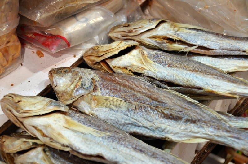 Pesce secco e salato fotografia stock libera da diritti